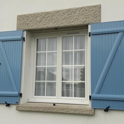 Changement de fenêtres et volets à Matignon