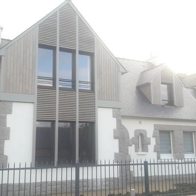Extension et rénovation d''une maison à Saint Lunaire