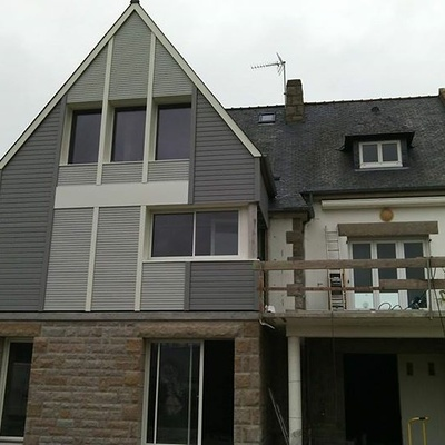 Extension d''une maison néo bretonne - St Cast le Guildo