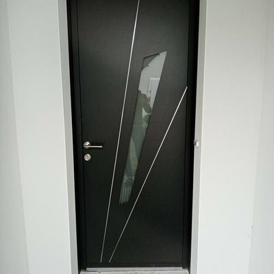 Porte d''entrée Aluminium à Plédran