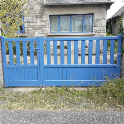 Pose d''un portail à Saint-Cast le Guildo