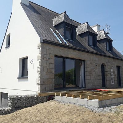 Rénovation d''une maison à Saint Cast le Guildo