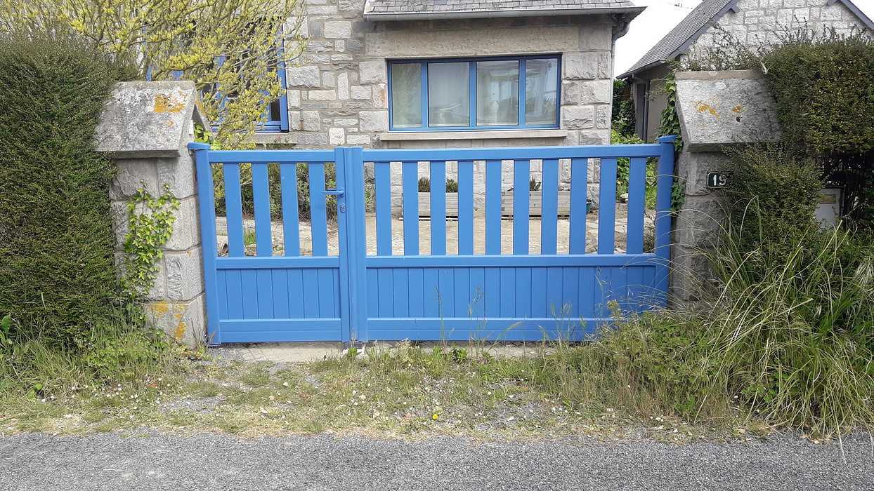 Pose d''un portail à Saint-Cast le Guildo 0