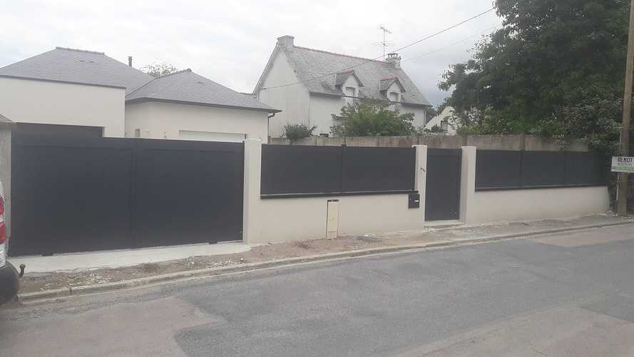 Pose de portails et clôtures à Plurien 20190620135801