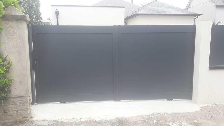 Pose de portails et clôtures à Plurien 20190620135810