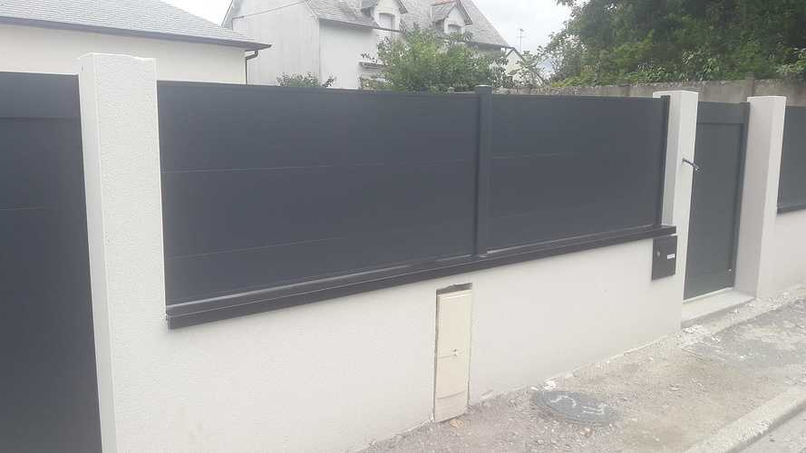 Pose de portails et clôtures à Plurien 20190620135920