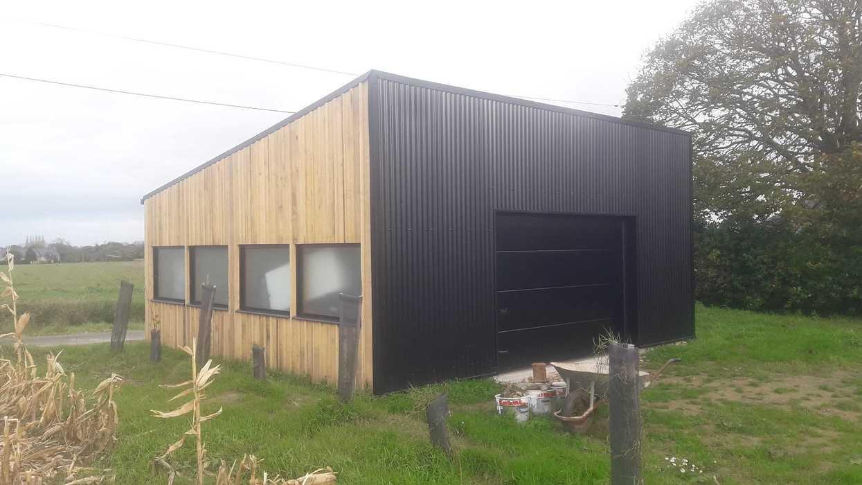 Création d''un garage en ossature bois à Hénanbihen 20191113145542resized