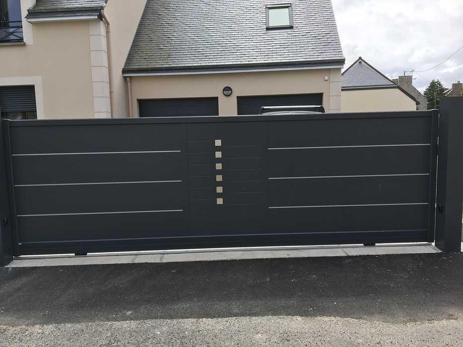 Portail, portillon et clôture à Saint Cast le Guildo 0