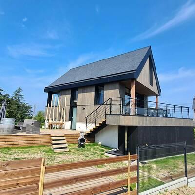 Chantier en cours : Construction d''une maison à Fréhel