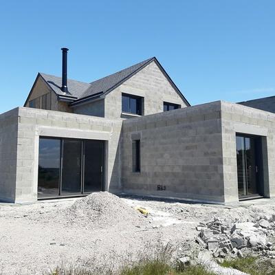 Construction d''une maison neuve à Erquy