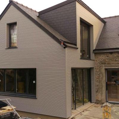 Extension en ossature bois et Rénovation - Pordic