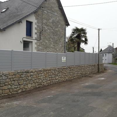 Installation d''une clôture en aluminium à Saint-Cast le Guildo