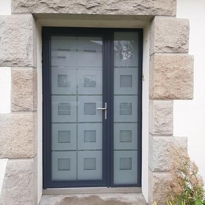 Porte d''entrée à Saint Cast le Guildo