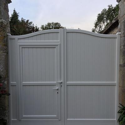 Pose d''un portail aluminium à Plévenon