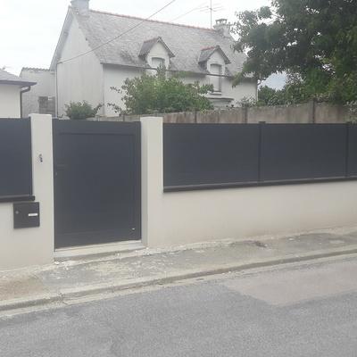 Pose de portails et clôtures à Plurien