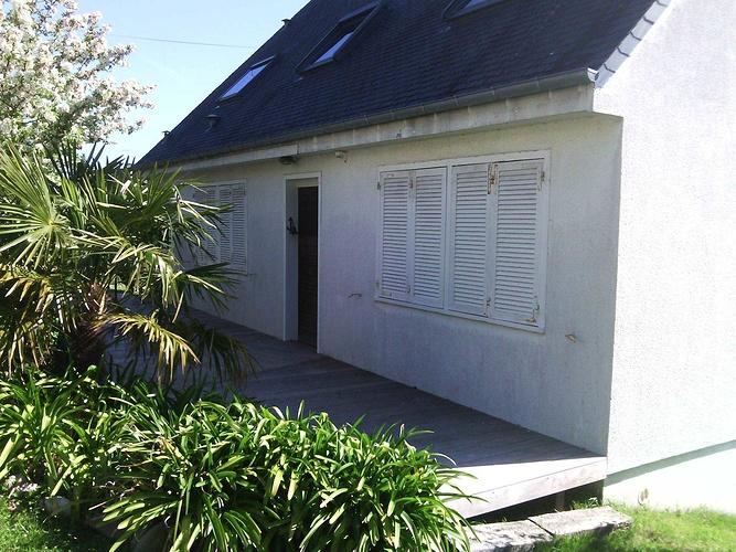 Isolation extérieure - bardage rénovation maison néo-bretonne - St Cast le Guildo av1