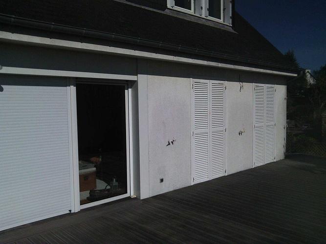 Isolation extérieure - bardage rénovation maison néo-bretonne - St Cast le Guildo av2