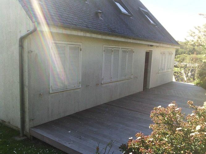 Isolation extérieure - bardage rénovation maison néo-bretonne - St Cast le Guildo av3