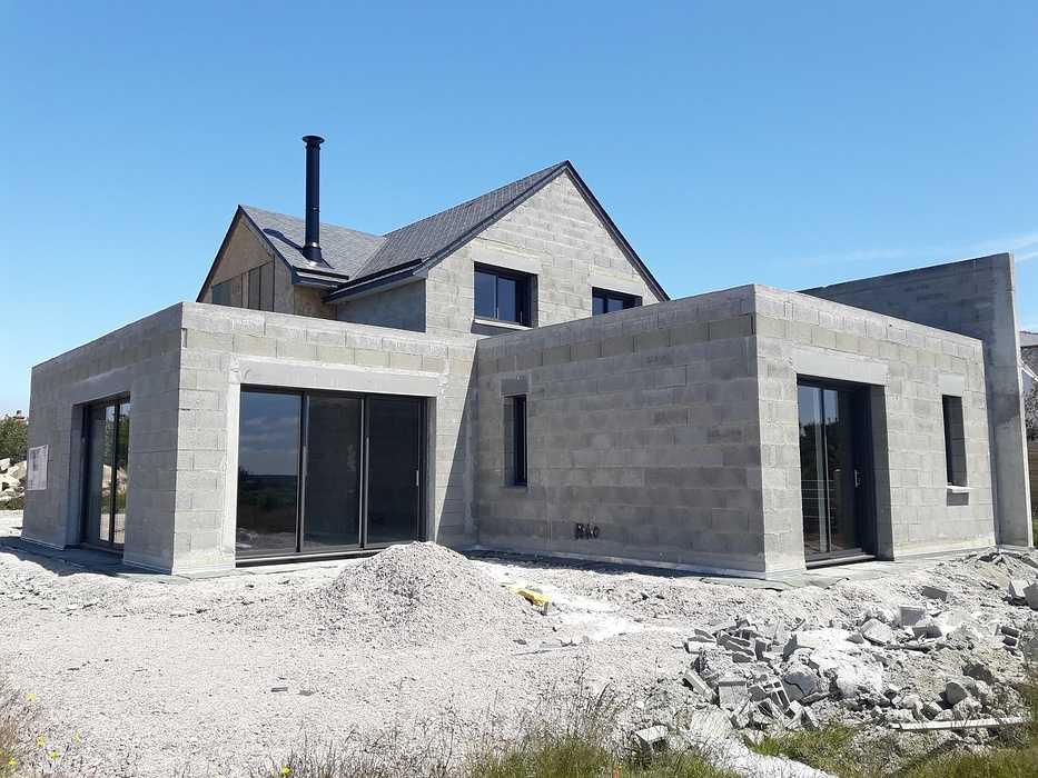 Construction d''une maison neuve à Erquy 0