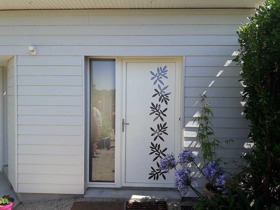 Extension bois, pose de fenêtres et porte d''entrée - Saint-Cast 20180803153924