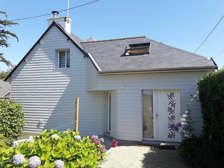 Extension bois, pose de fenêtres et porte d''entrée - Saint-Cast 0