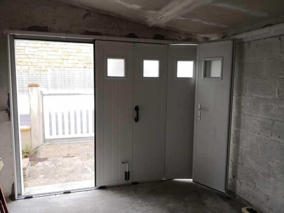 Installation d''une porte de garage à Saint Cast Le Guildo img20181109145056