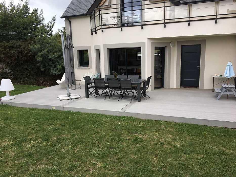 Terrasse composite à Saint-Cast le Guildo img4508