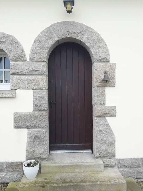 Changement de la porte d''entrée à Saint-Cast le Guildo 20180329105909