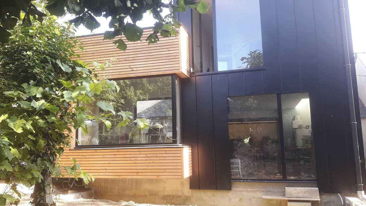 Extension ossature bois à Hénanbihen 20190722100939resized