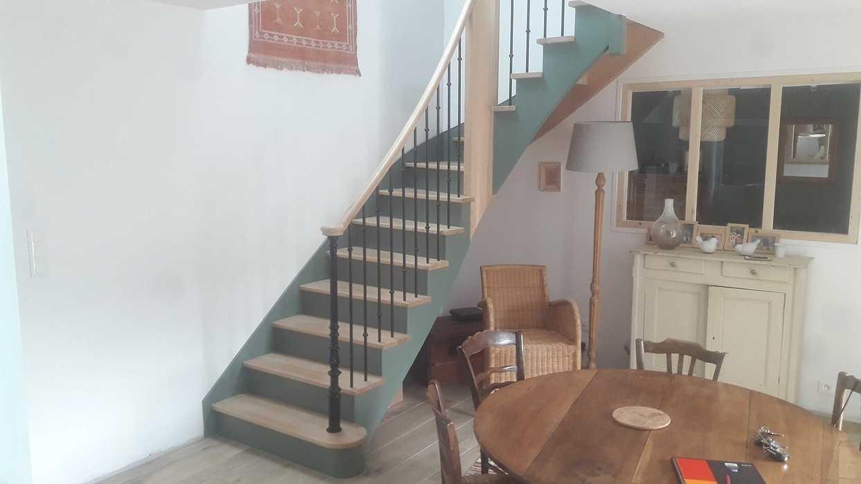 Escalier bois à Plevenon 20190906163807