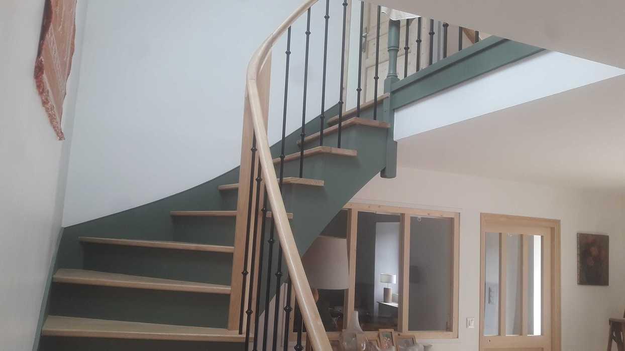 Escalier bois à Plevenon 20190906163837