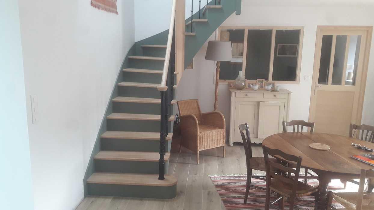 Escalier bois à Plevenon 0