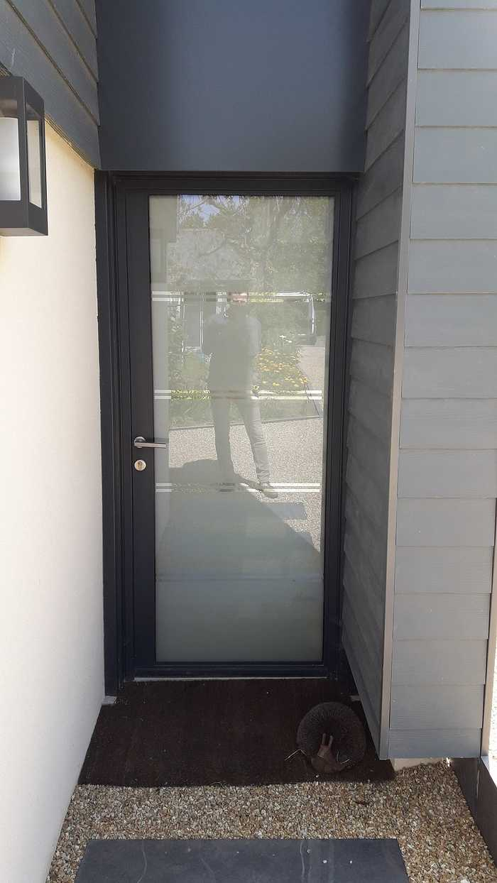 Porte d''entrée vitrée à Saint Cast le Guildo 0