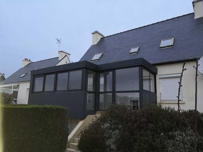 Installation d''une véranda à Matignon img20200207174117