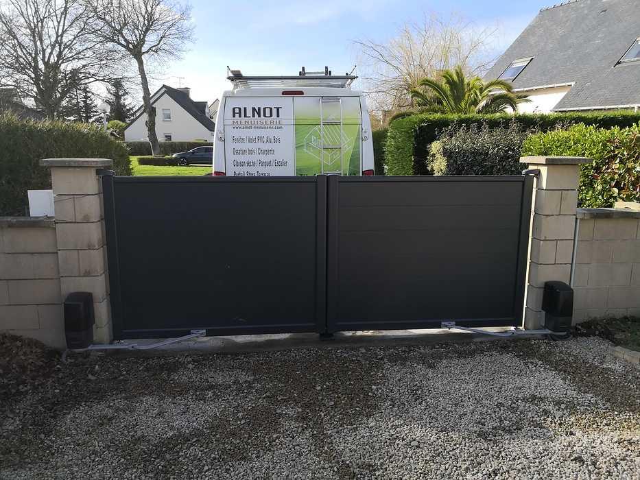 Portail Aluminium à Matignon img20200221153051