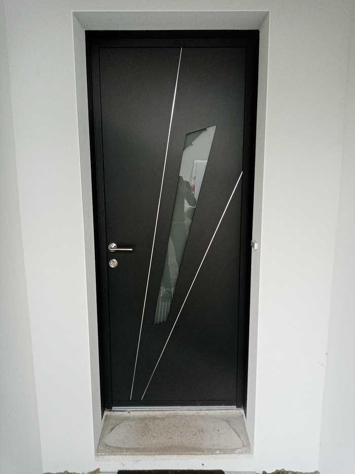 Porte d''entrée Aluminium à Plédran 0