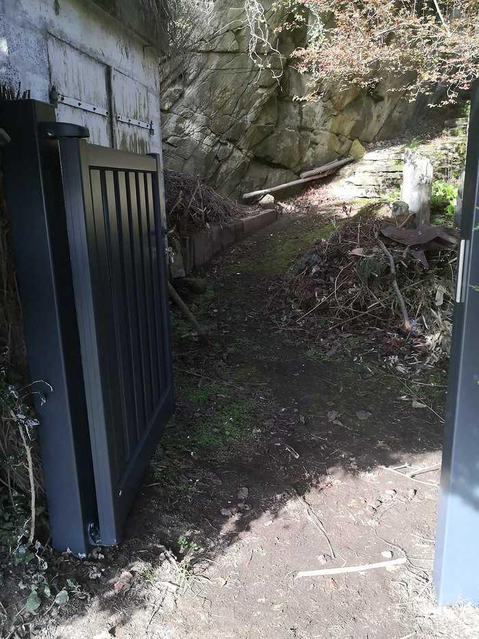 Portillon aluminium à Saint Cast le Guildo img20200313104533