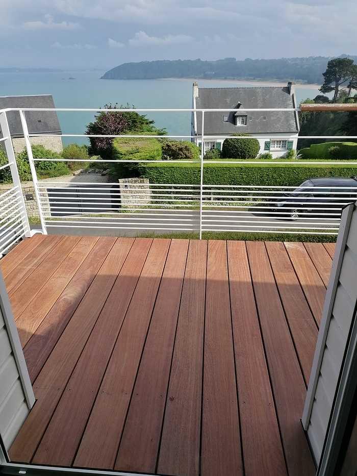 Terrasse et main courante à Saint Cast le Guildo 6156030863358490317