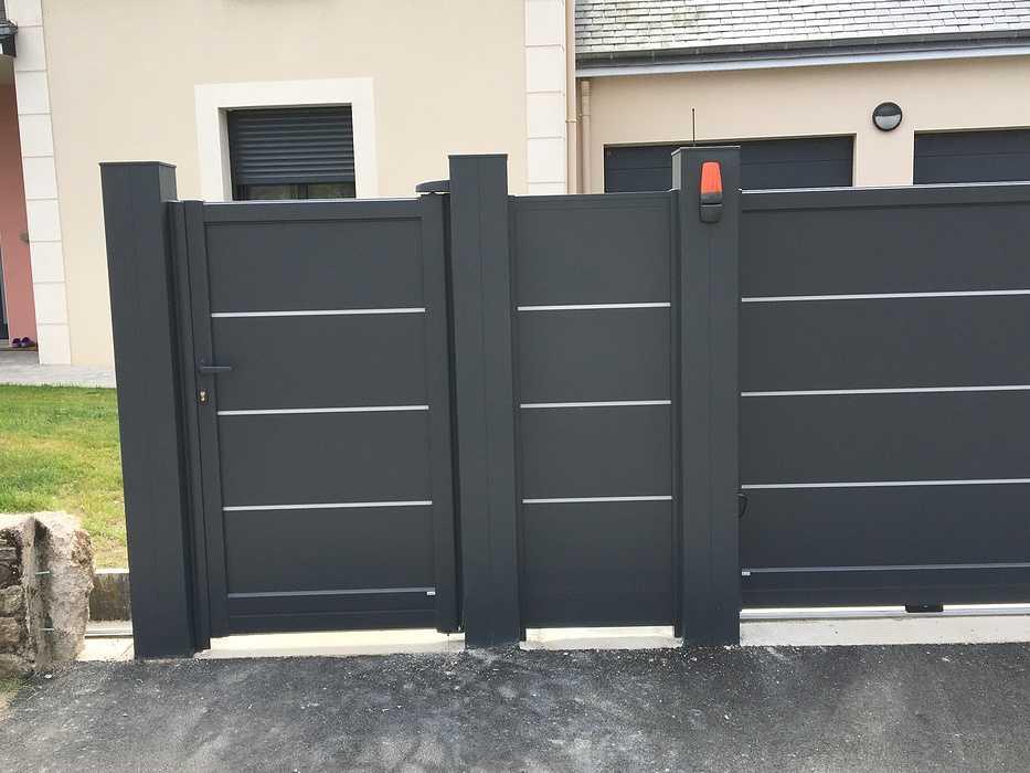 Portail, portillon et clôture à Saint Cast le Guildo img5693