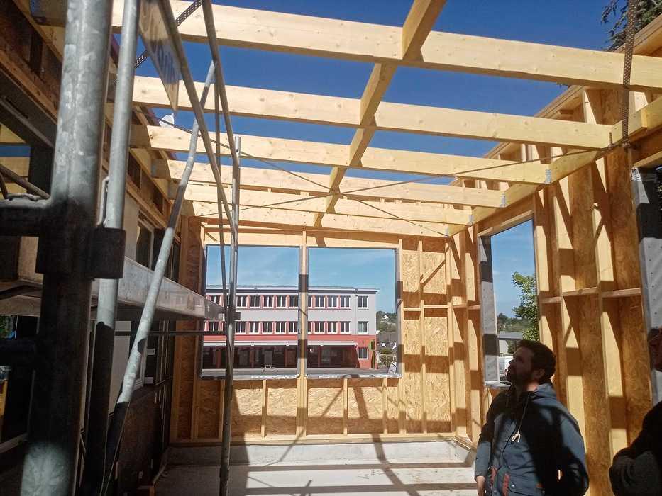Extension du foyer et du restaurant scolaire à Lamballe img20200514110749