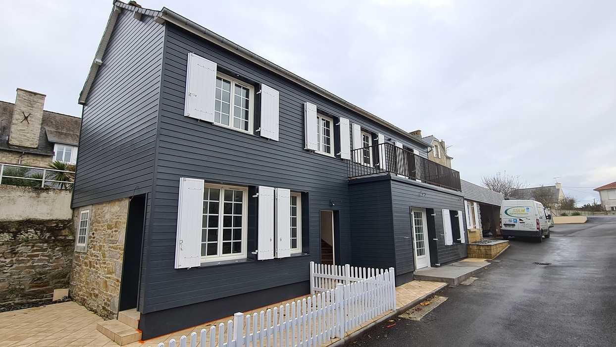 Rénovation d''une façade en bardage bois à Saint Cast le Guildo 20201209131646